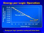 energy per logic operation