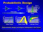probabilistic design