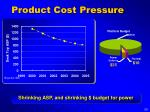 product cost pressure