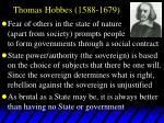 thomas hobbes 1588 1679