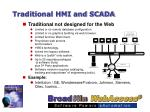 traditional hmi and scada