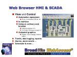 web browser hmi scada