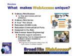 what makes webaccess unique24