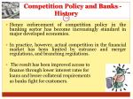 competition policy and banks history14
