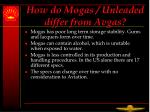 how do mogas unleaded differ from avgas5