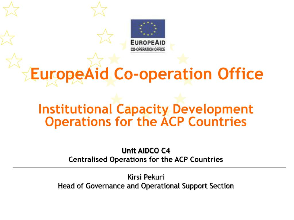 europeaid co operation office l.