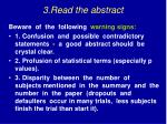 3 read the abstract19