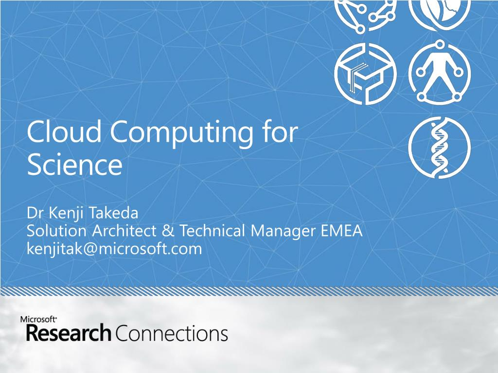 cloud computing for science l.