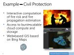 example civil protection