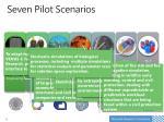 seven pilot scenarios