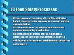 eu food safety processes