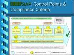 eurep gap control points compliance criteria