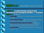 eurep gap good agricultural practice
