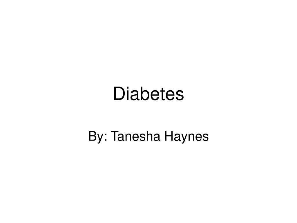diabetes l.