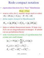 redo compact notation