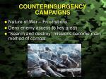 counterinsurgency campaigns