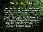 u s air strikes