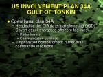 us involvement plan 34a gulf of tonkin