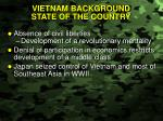 vietnam background state of the country