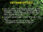 vietnam divided