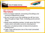 cape town broadband infrastructure project the future