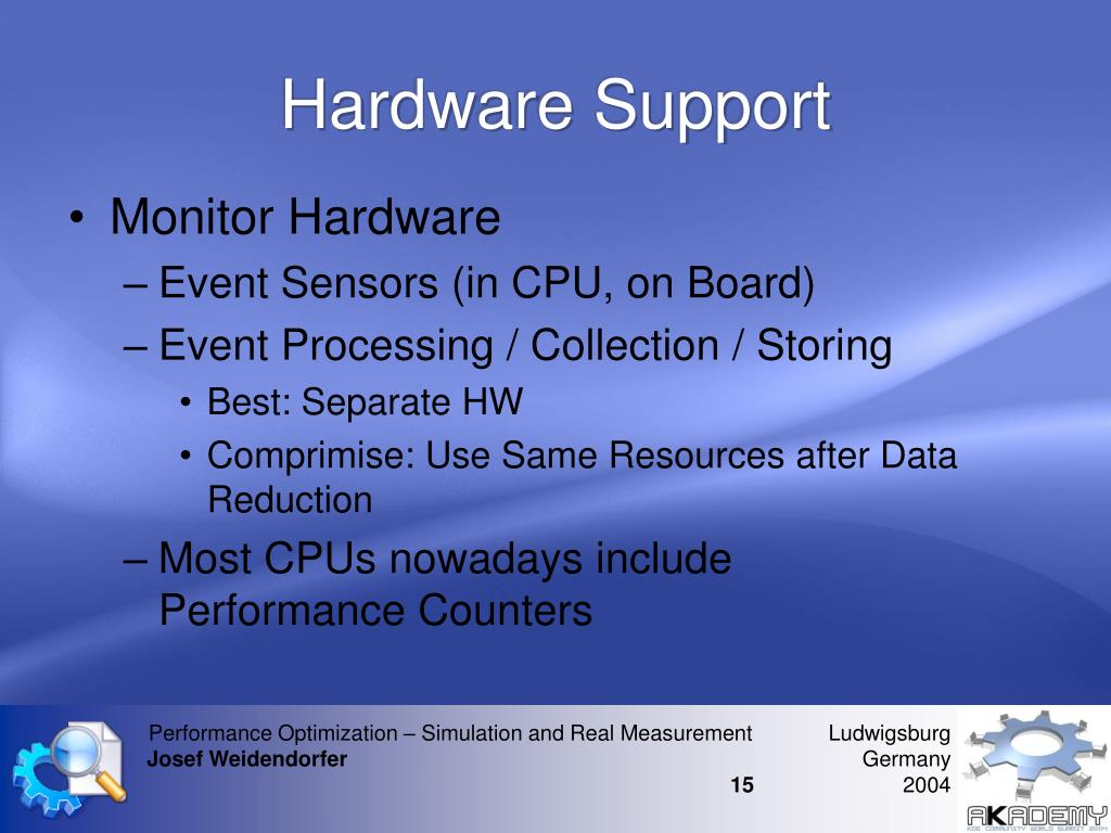 Hardware Support