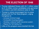 the election of 194825