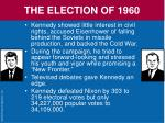 the election of 196070