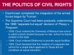the politics of civil rights64