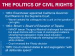 the politics of civil rights65