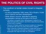 the politics of civil rights66