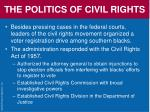 the politics of civil rights68