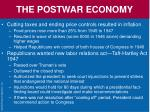 the postwar economy5