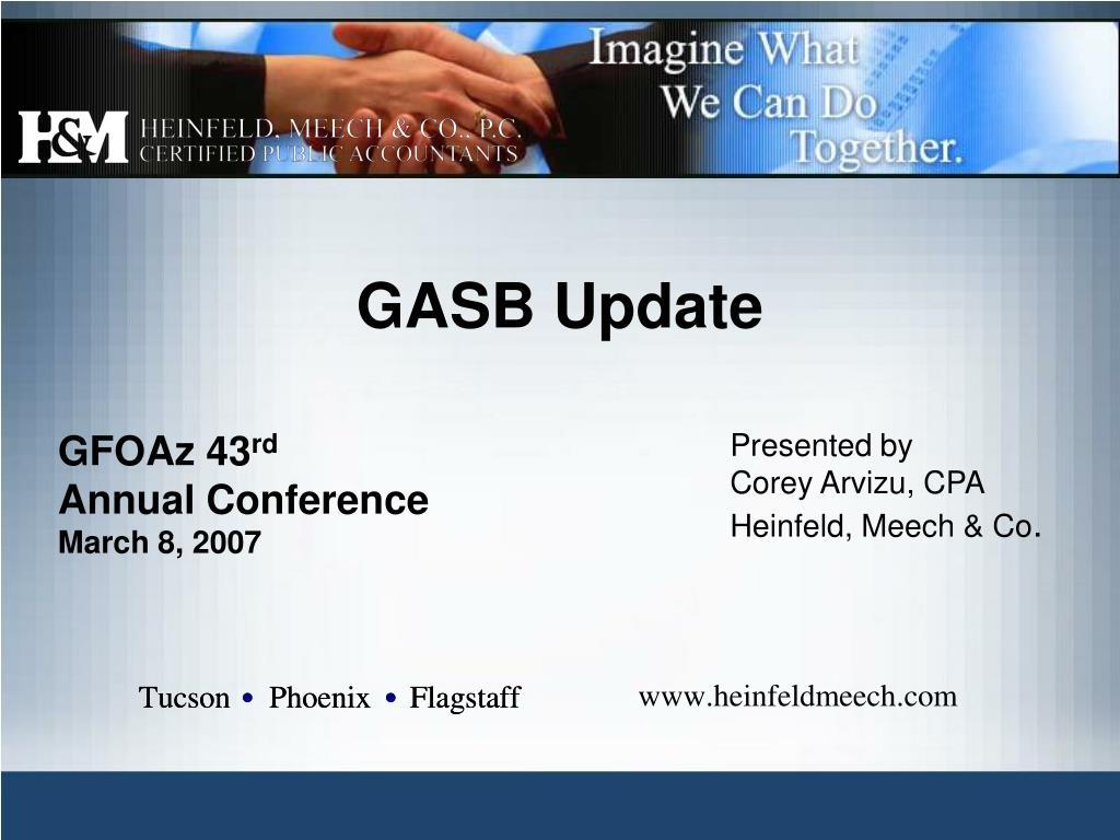gasb update l.