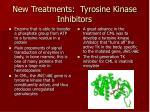 new treatments tyrosine kinase inhibitors