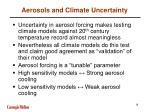 aerosols and climate uncertainty18