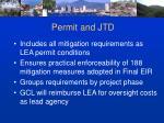 permit and jtd