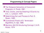 programming concept papers