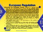 european regulation
