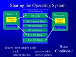 sharing the operating system