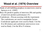 wood et al 1974 overview
