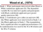 wood et al 1974