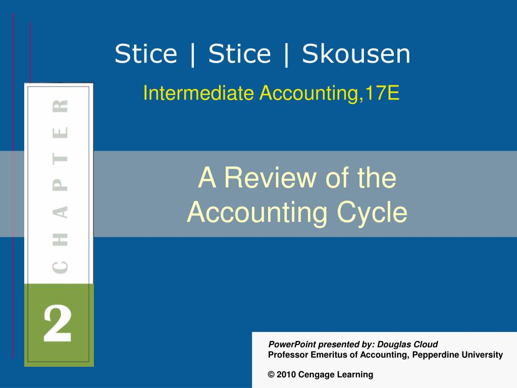 a review of the accounting cycle l.
