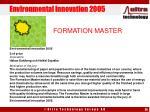 environmental innovation 2005