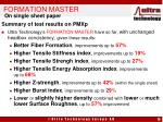 formation master14