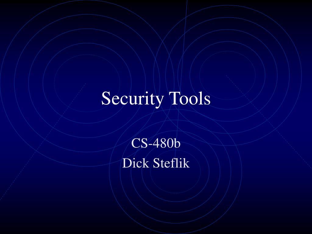 security tools l.