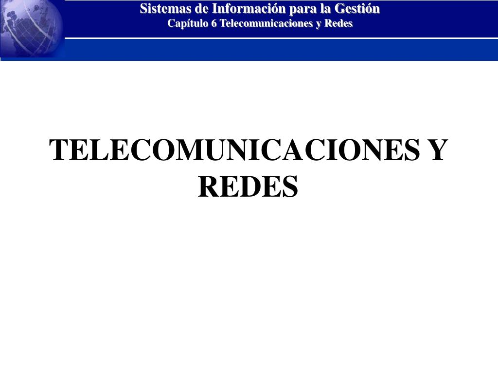 telecomunicaciones y redes l.