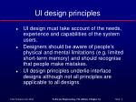 ui design principles