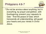 philippians 4 6 7