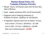 market based policy 2 tradable pollution permits